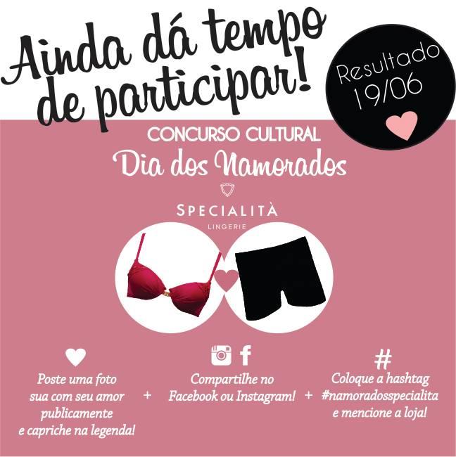 promoção specialita lingerie - Blog Specialità Lingerie 0812315778c