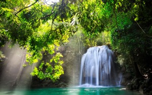 Kanchanaburi-Thailand-waterfall-nature-sunlight-water-trees_1920x1200