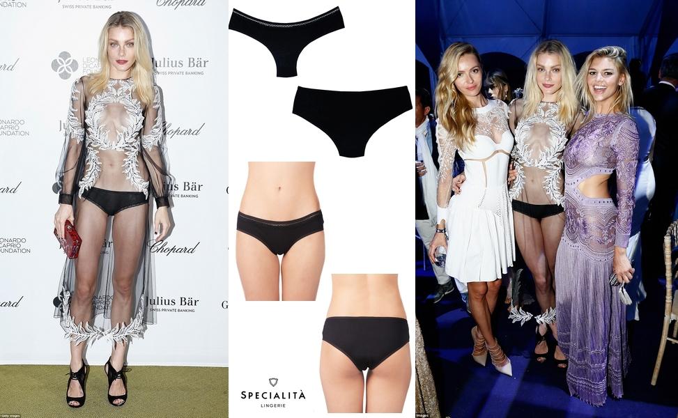 Mulher de lingerie: Jessica Stam