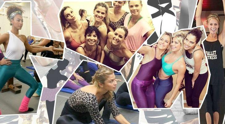 Ballet Fitness: as celebridades que aderiram -que roupa usar?