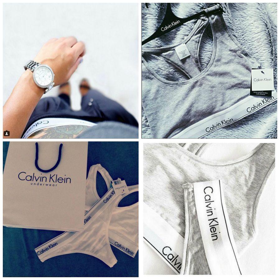 Lingerie Calvin Klein bomba nas redes sociais