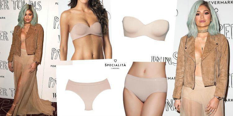 Mulher de lingerie: Kylie Jenner