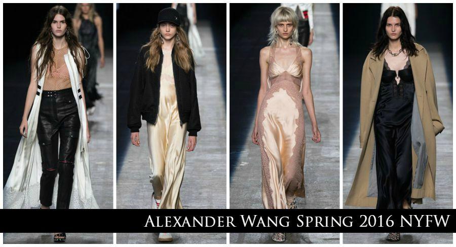 Lingerie a mostra: use e abuse dessa tendência - Alexander Wang