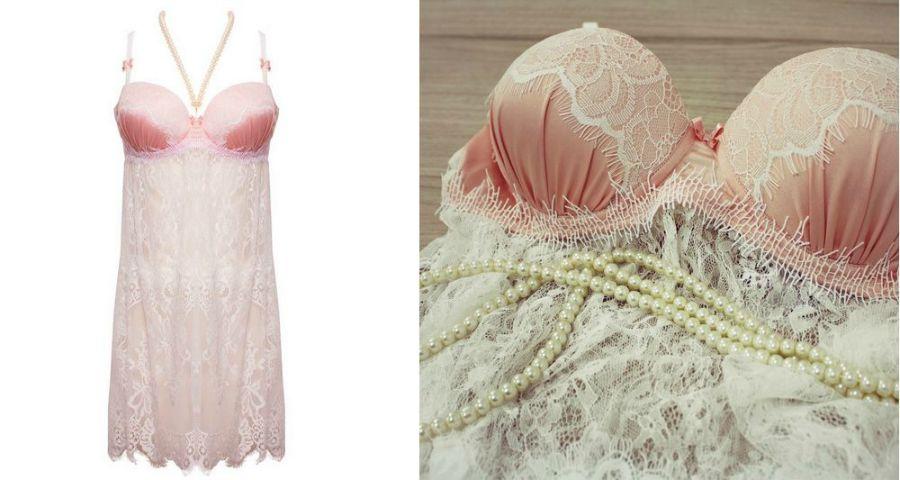 Lingerie de luxo - você ainda vai querer vestir uma Belles
