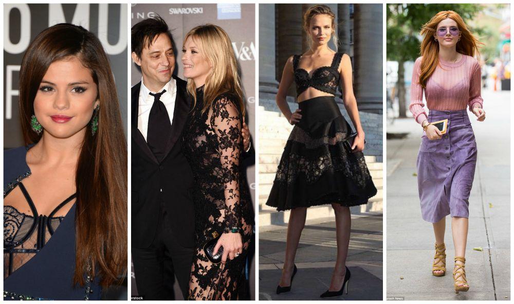 Lingerie a mostra: use e abuse dessa tendência - celebridades usando lingerie a mostra