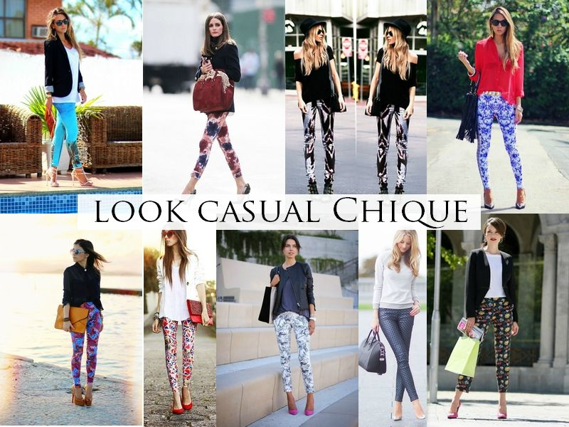 Looks com legging estampada