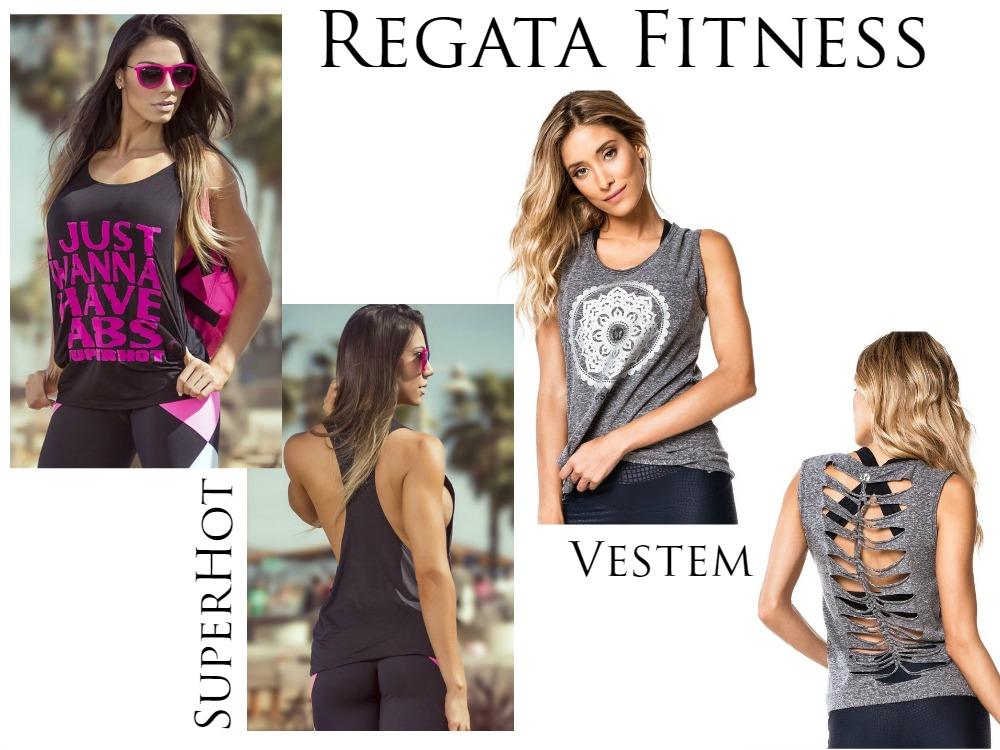 Como usar Regata Fitness - Vestem -SuperHot