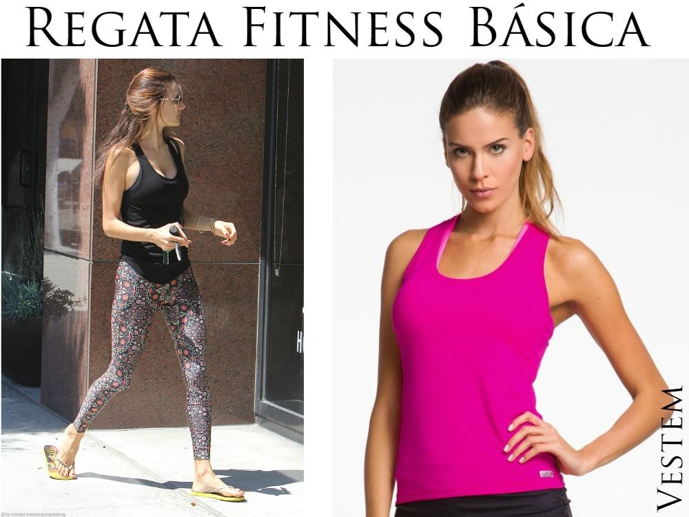 Como usar Regata Fitness Básica - Alessandra Ambrósio