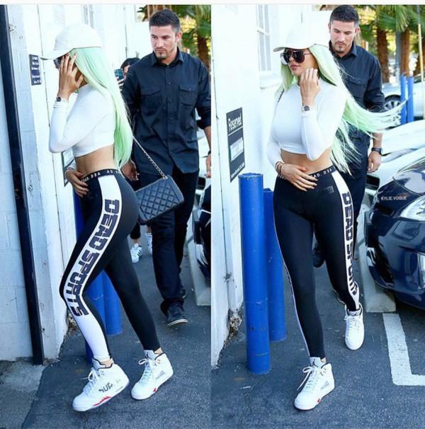 A Legging Fitness de Kylie Jenner