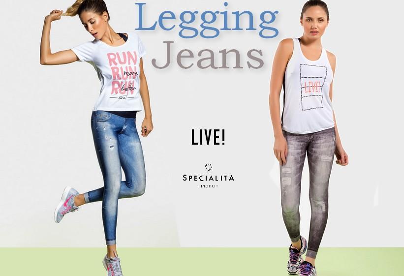 Legging Jeans da Live!
