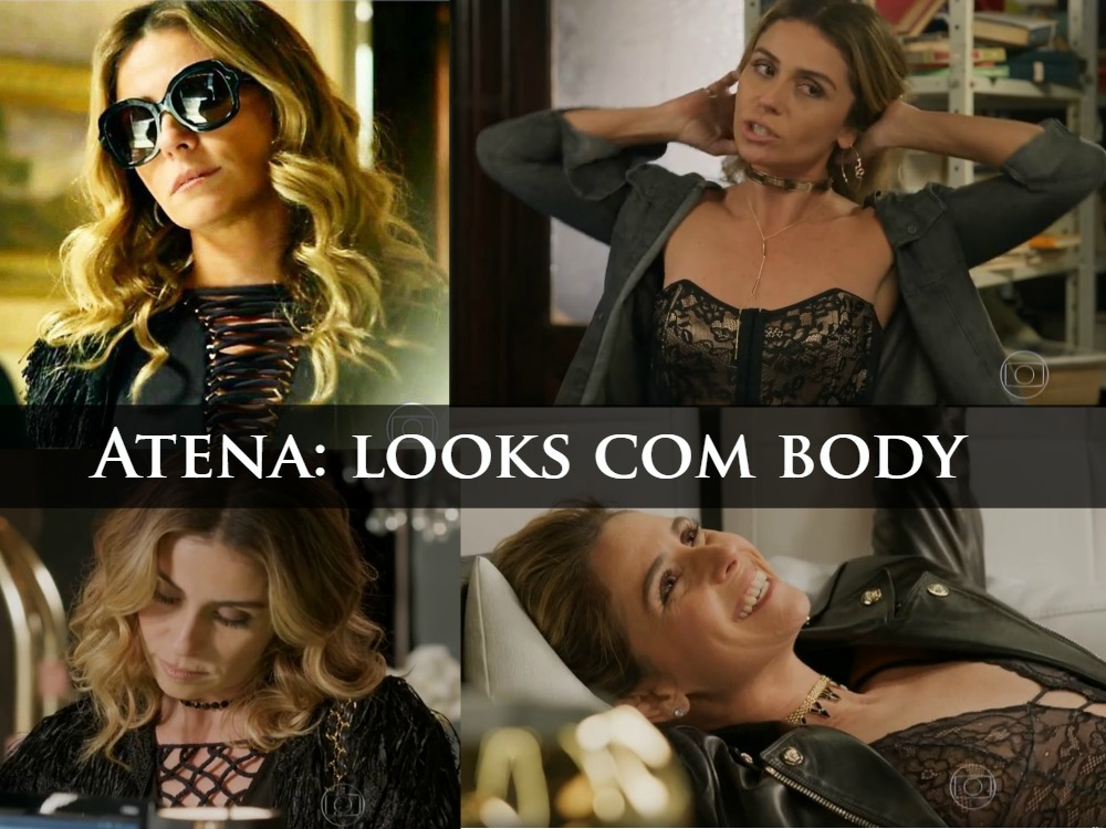 Looks com Body de Atena - A Regra do Jogo