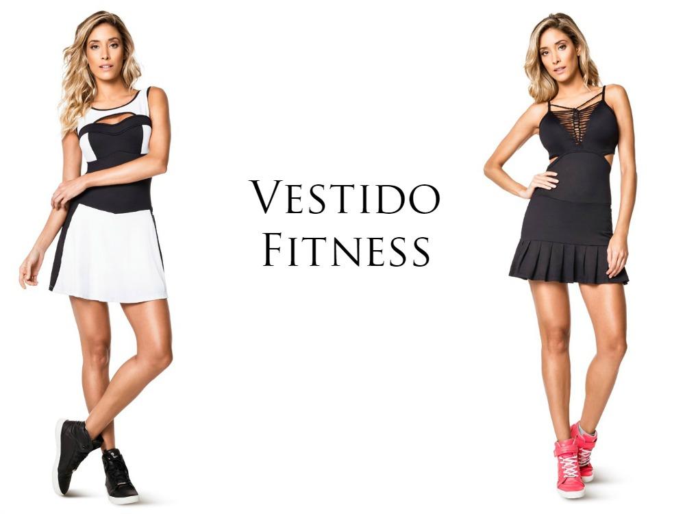 a2abec186 Moda Fitness  o que está em alta nas academias - vestido fitness