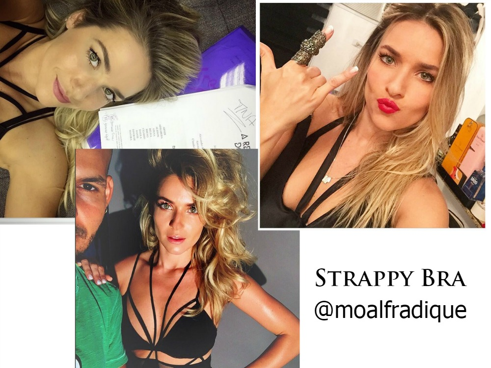 Monique Alfradique ama Strappy Bra
