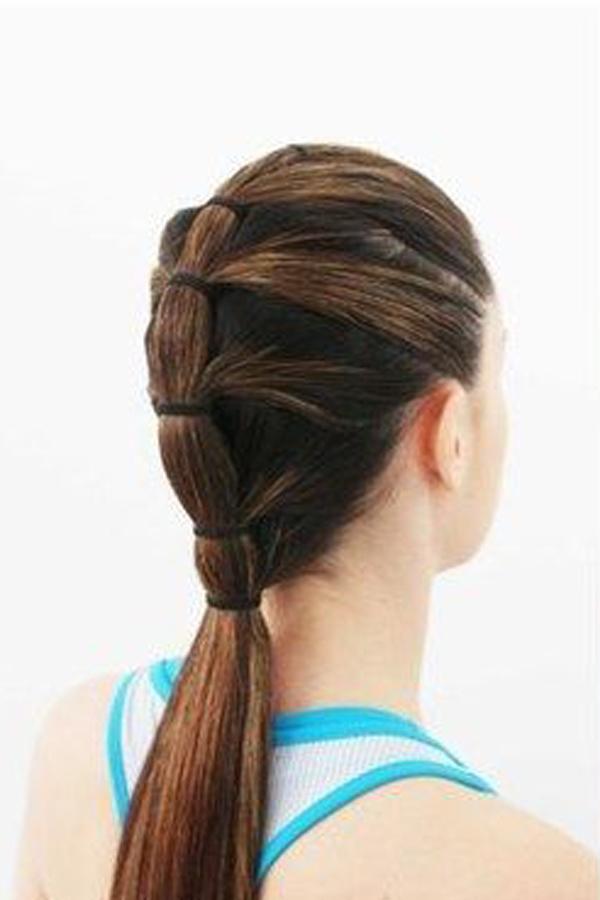 Como prender o cabelo para malhar