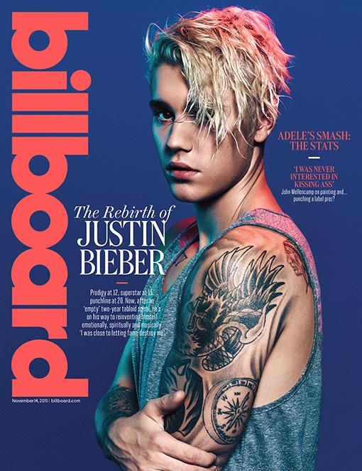 Justin Bieber na Billboard de novembro