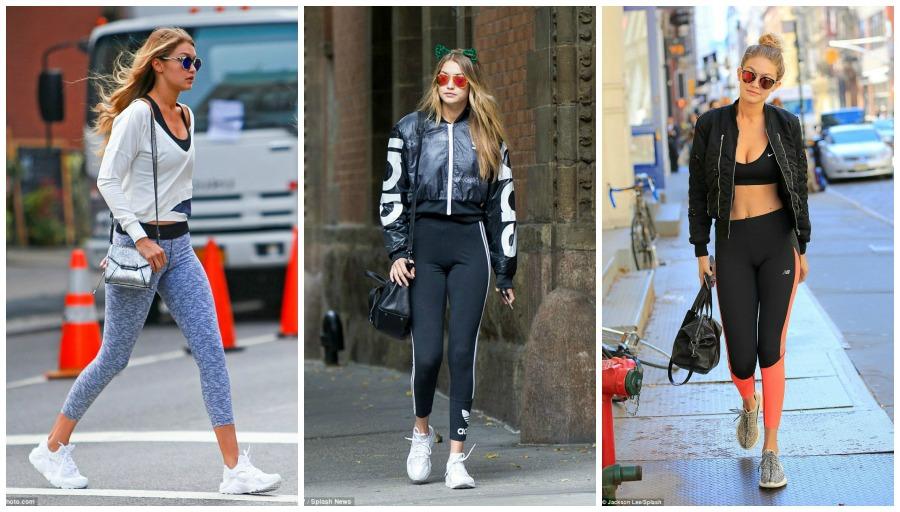 Moda Fitness de Gigi Hadid