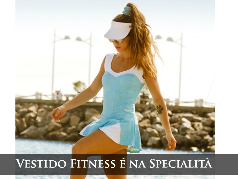 Vestido Fitness - oxyfit - onde comprar