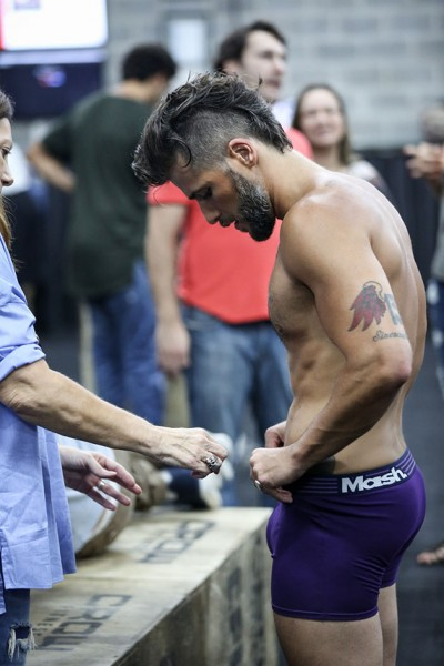 bruno gagliasso de cueca para mash making of
