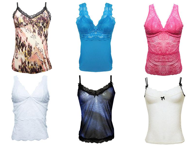 Camisete - lingerie para compor todo estilo de look!