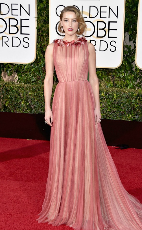 Looks Golden Globe 2016 - Gucci