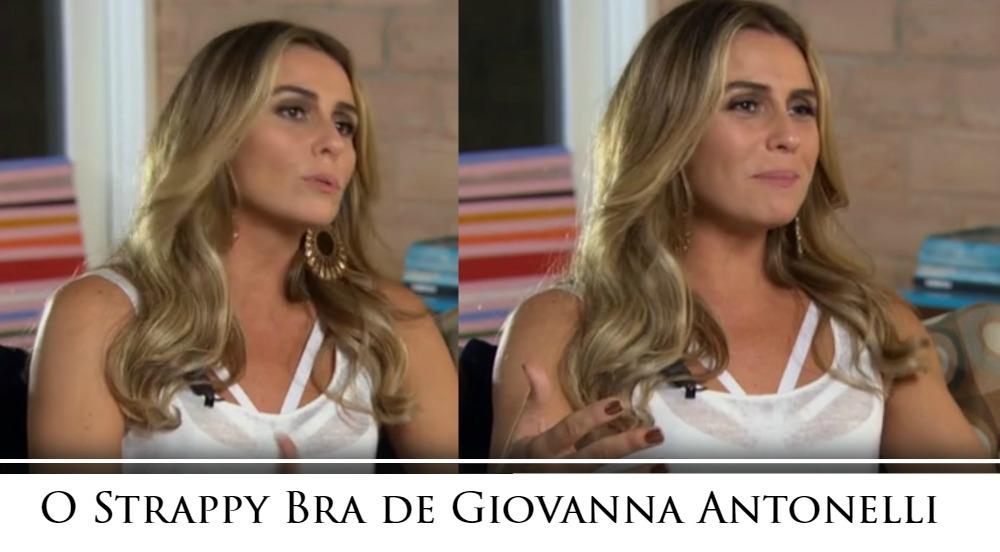 117120e5e Giovanna Antonelli de lingerie à mostra - Strappy Bra