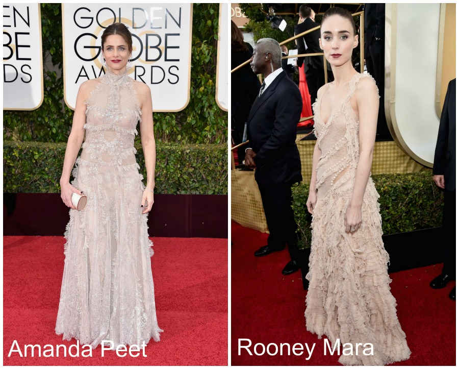 Looks Golden Globe 2016 - Alexander McQueen