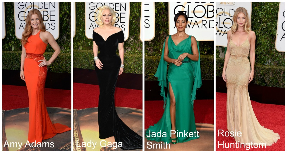 Looks Golden Globe 2016 - Versace