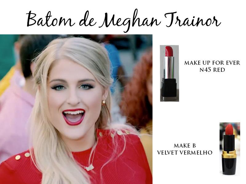 Batom de Meghan Trainor