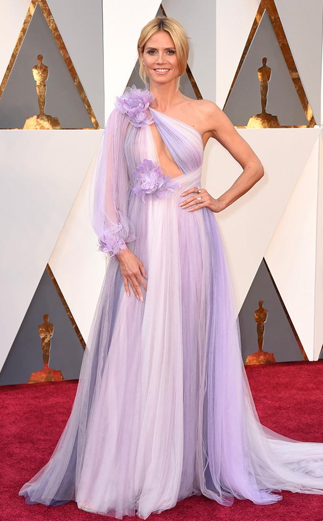 Looks Oscar 2016 - Heidi Klum