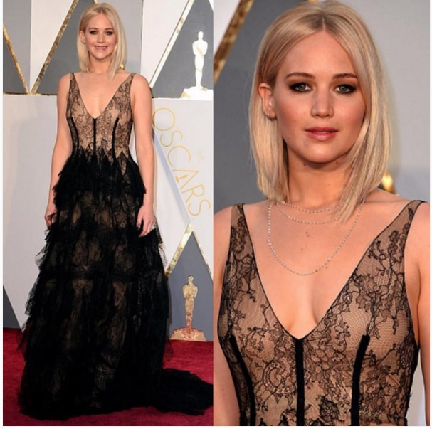 Look Jennifer Lawrence Oscar 2016