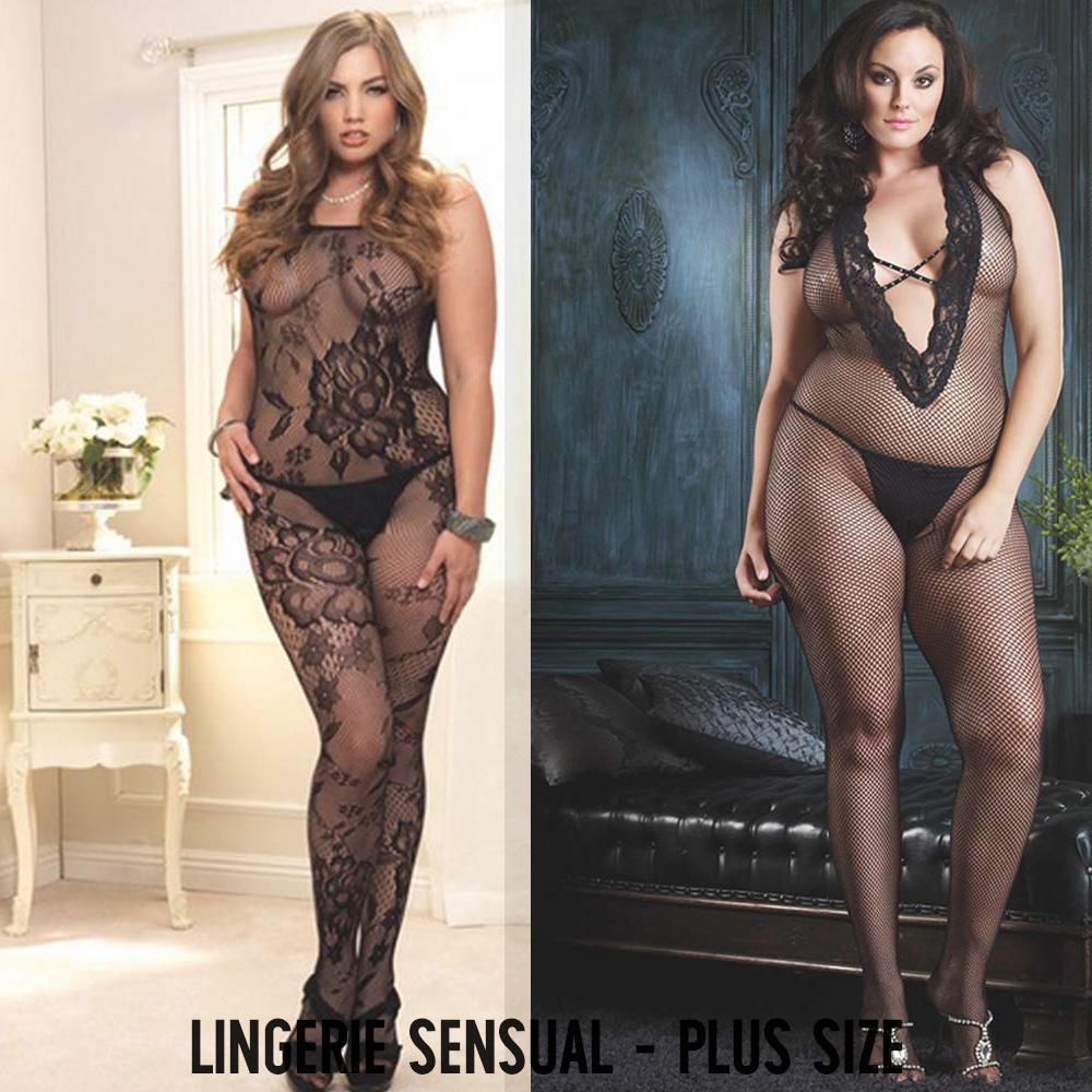 Lingerie sensual - plus size