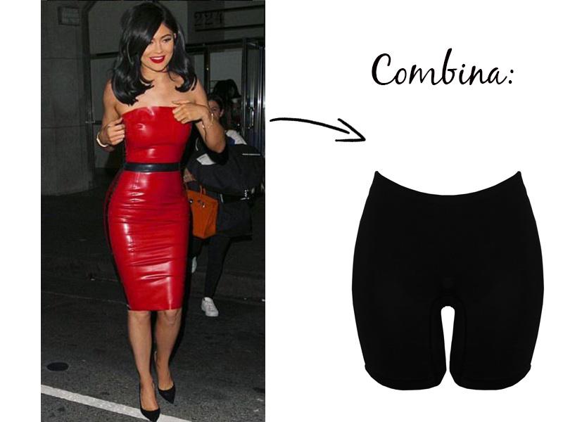 Kylie Jenner bermuda modeladora