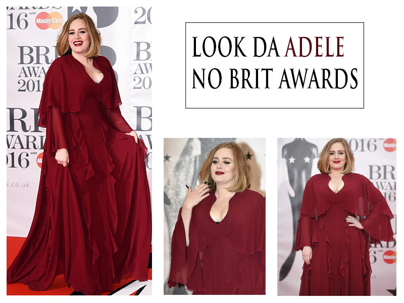 Look da Adele no BRIT Awards