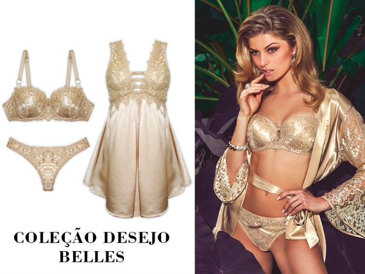 Marcas de lingerie de luxo - Belles