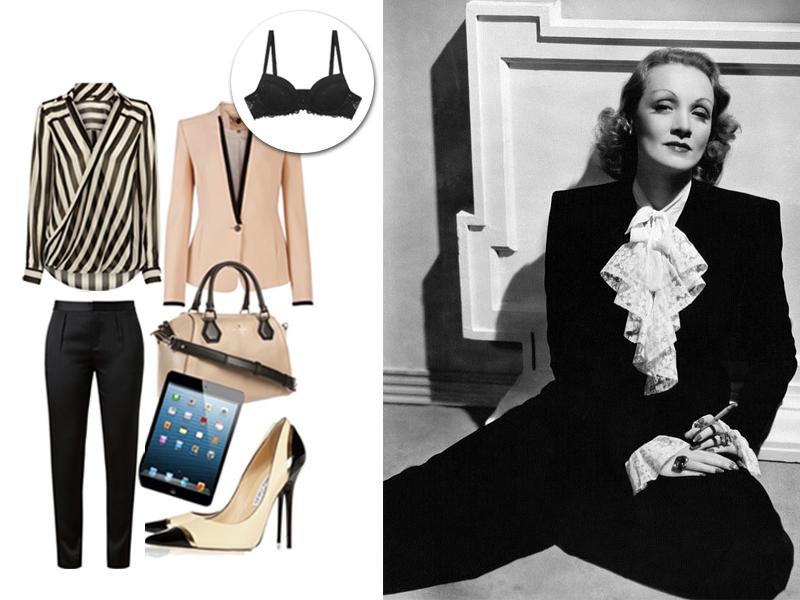 Estilo das divas - Marlene Dietrich