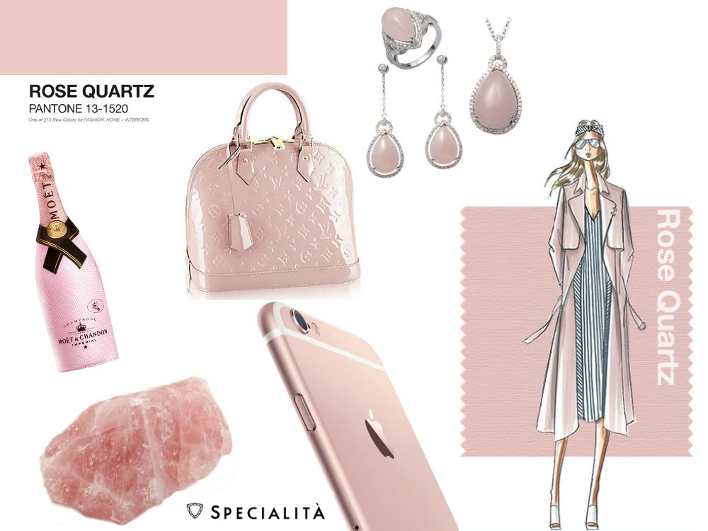Lingerie | Pantone Fashion Color Report Spring 2016: Rose Quartz