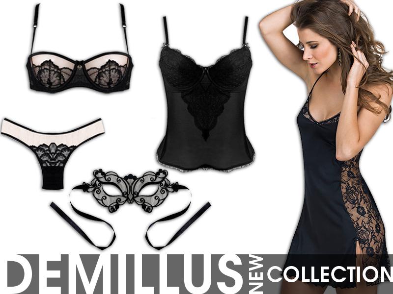 Marcas de lingerie - DeMillus - onde comprar